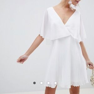 ASOS dress with pleated skirt BNWT